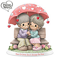 Rain Or Shine You\'ll Always Be Mine Figurine