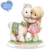 Precious Moments Together We\'re Llamazing Figurine