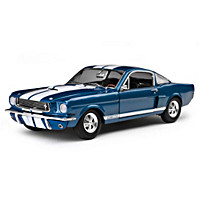 1:18-Scale 1966 Shelby GT350 Supercharged Diecast Car