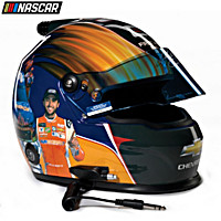 Autographed Chase Elliott First Win Racing Helmet