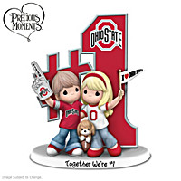 Precious Moments Together We\'re #1 Ohio State Figurine