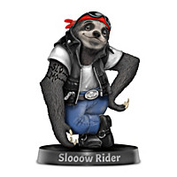 Slooow Rider Figurine