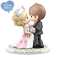 Precious Moments Our Love Is The Perfect Cure Figurine