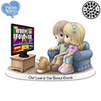 Our Love Is The Bonus Round Figurine