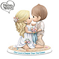 Precious Moments Our Love Is Deeper Than The Ocean Figurine