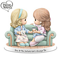 Precious Moments You & Me, Sisters We\'ll Always Be Figurine