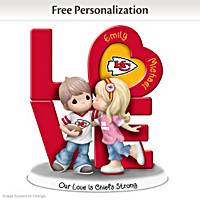 Our Love Is Chiefs Strong Personalized Figurine