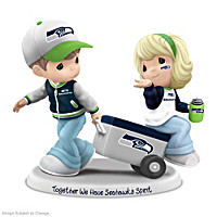 Precious Moments Together We Have Seahawks Spirit Figurine