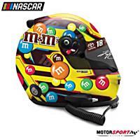 Autographed Kyle Busch M&M\'s Classic 2019 Racing Helmet