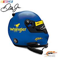 Autographed Dale Jr. Heritage 2010 Wrangler Replica Helmet