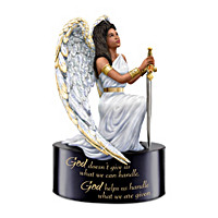 God Helps You Handle What You Are Given Figurine