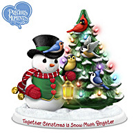 Together Christmas Is Snow Much Brighter Figurine