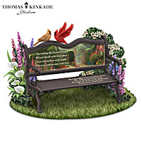 Thomas Kinkade Until We Meet Again Sculpture