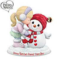 Precious Moments Snow Better Friend Than You Figurine