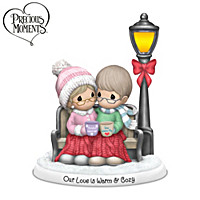 Precious Moments Our Love Is Warm And Cozy Figurine