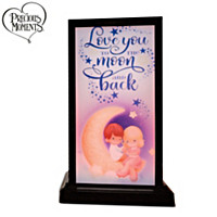 Love You To The Moon And Back Friendship Lamp Set