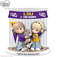 Together We\'re A Winning Team LSU Figurine