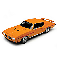 1:18-Scale 1970 Pontiac GTO Judge Diecast Car