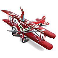 Texaco 1929 Waco Straightwing Barnstormer Diecast Plane