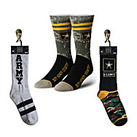 Army Socks 3-Pair Set