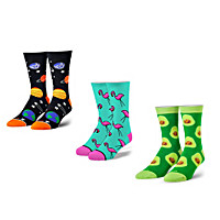 Toe-tally Cool Socks 3-Pair Set