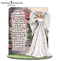 Thomas Kinkade A Tribute To Caring Sculpture