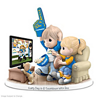 Every Day Is A Touchdown With You Chargers Figurine
