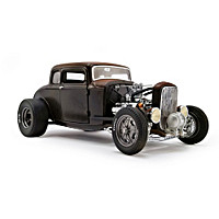 1:18-Scale 1932 Ford Pork Chop Rat Rod Diecast Car