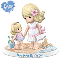 Precious Moments You & Me By The Sea Figurine