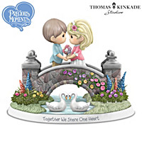 Precious Moments Together We Share One Heart Figurine