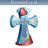 Nurses Are The Heart Of Caring Personalized Cross