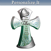 Father, You Are The World Personalized Cross