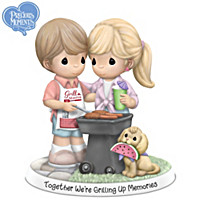Together We're Grilling Up Memories Figurine