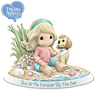 Precious Moments You & Me, Fur-ever By The Sea Figurine