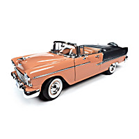 1:18-Scale 1955 Chevrolet Bel Air Convertible Diecast Car