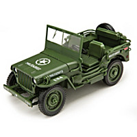 1:18-Scale 1941 Diecast Tactical Jeep