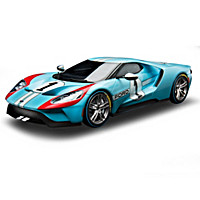 1:18-Scale 2020 Ford GT #1 Heritage Edition Sculpture