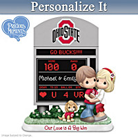 Buckeyes Our Love Is A Big Win Personalized Figurine