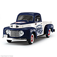 History & Heritage Yankees Ford Pickup Sculpture