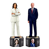 President Biden And Vice President Harris Sculptures