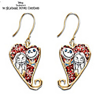 Tim Burton\'s Nightmare Before Christmas Earrings