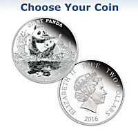 Nature\'s 99.9% Silver Treasure Coin