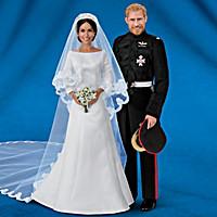 Meghan Markle And Prince Harry Royal Romance Wedding Dolls
