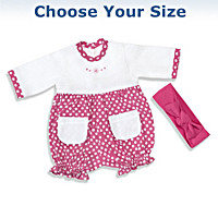 Raspberry Romper Baby Doll Accessory Set