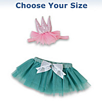 Birthday Princess Outfit Baby Doll Accessory Set