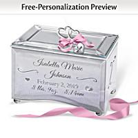 Bundle Of Joy Personalized Music Box