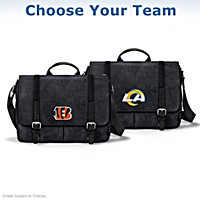 NFL Men's Canvas Messenger Bag