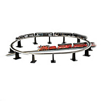 12-Piece Tall Pier Train Accessory Set