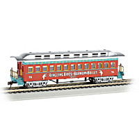 Ringling Bros And Barnum & Bailey Coach Train Car
