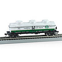 Quaker State Three-Dome Tank Train Car